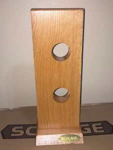 Schlage Oak Wood Cylindrical Lock Mount Part 44 155 For Sales Display Nib New
