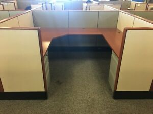 Used Office Cubicles Knoll Reff Cubicles 7x6