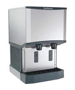 Scotsman Hid525aw 1 500lb Nugget Meridian Ice Maker Dispenser Wall Mounted