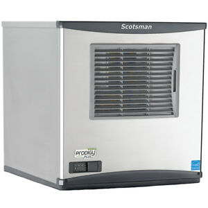 Scotsman N0622a 32 643lb Prodigy Compressed Nugget Ice Maker Air Cooled 208v