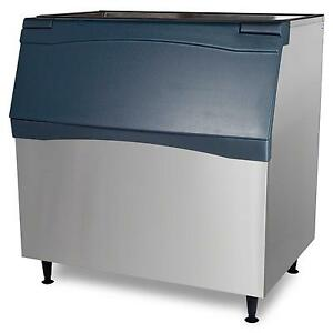 Scotsman B948s 48 Stainless Top Hinged 893lb Ice Storage Bin