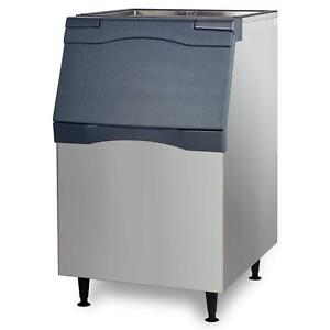 Scotsman B530s Ice Storage Bin 536lb Top Hinged 30 Stainless