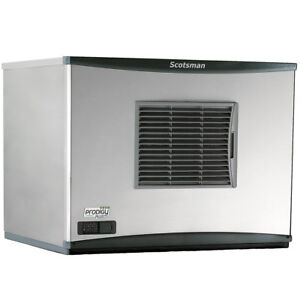Scotsman C0630sa 32 Prodigy Plus 776lb Ice Maker 30 Air Cooled Small Cube 208v