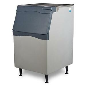 Scotsman B530p Ice Storage Bin 536lb Top Hinged 30in Rotocast Plastic