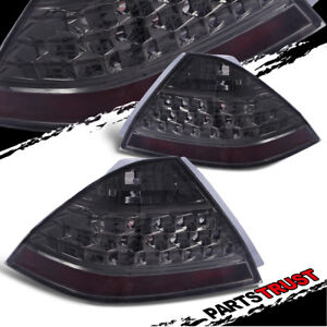 For 2006 2007 Honda Accord Lx ex exl Sedan Smoke Brake Tail Lights without Leds