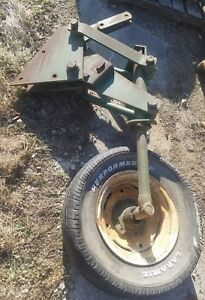 Oliver Moldboard Plow Tail Wheel Assembly 548 565 575 348