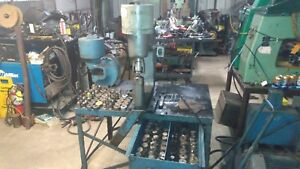 Whitney rockford Hydraulic Punches 70 90 Ton C Frame 75 Sets Iron Worker