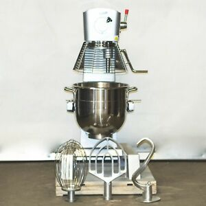 New Servware 30 Quart Mixer Pm30 pto Planetary Dough Commercial Kitchen