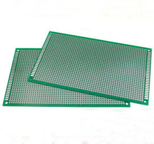 2 5 10 Double Side 10x15 Cm Pcb Strip Board Printed Circuit Prototype Track Lw