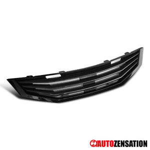 Fit 08 10 Honda Accord 2dr Coupe Mug Style Black Hood Grille