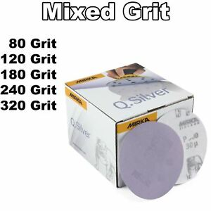 Professional 75mm 3 Mini Da Air Sander 25 Mix Sanding Discs Car Body