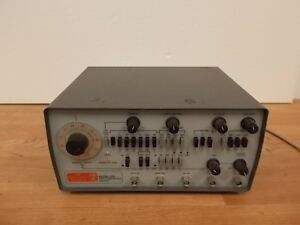 Ok Electronics Division 206 5 Mhz Sweep Function Generator Working Free Shipping