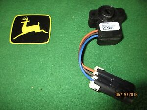 New Oem John Deere Tractor Active Seat Rotary Position Sensor Re564548 Models Be