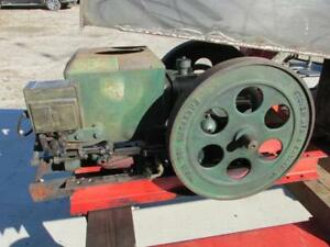 Antique Vintage 1940 Stover Mfg Ct 2 Hit Miss Gas Engine 2 To 2 1 2 Hp Runs