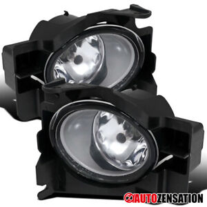 For 2008 2012 Nissan Altima 2dr Coupe Clear Bumper Driving Fog Lights Switch