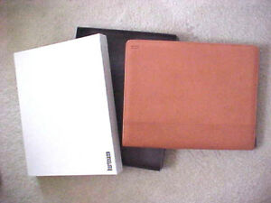 Immaculate Hartmann Light Brown Business Portfolio W zipper Box Included