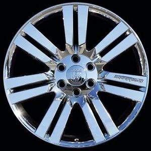 Set Of 4 22 Chrome Marcellino Concept Wheels Rims For Cadillac Chevrolet Gmc
