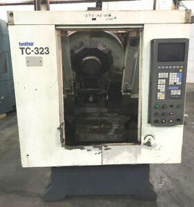 Brother Tc 323 Cnc Vmc Vertical Milling Machining Center Dual Pallet