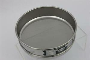 Verder Laboratory Stainless Steel Sieve Astm E11 95 With Wire 8 Diameter