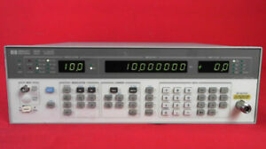Hp agilent 8657b Synthesized Signal Generator 100 Khz To 2060 Mhz