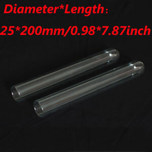 Wholesale Glass Borosilicate Heavy Wall Lab Test Tubes New 25x 200mm New