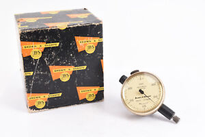 599 8136 312 Brown And Sharpe Dial Indicator 075 By 0005 Jeweled Mint V10