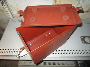 W6 H Ih Mcdeering Battery Box New Reproduction Farmall Tractor