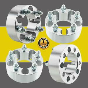 4 2 Wheel Spacers Adapters 5x4 5 For Jeep Wrangler Tj Yj Xj Kj Kk Zj Mj