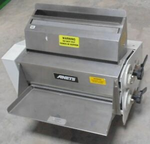 Anets Front Operated Double Pass 20 Dough Roller Sheeter Sdr 42