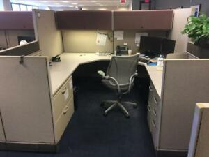 Used Office Cubicles Herman Miller Ao2 Cubicles 8x8