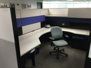 Used Office Cubicles Steelcase Answer Cubicles 8x9 5