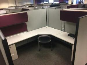 Used Office Cubicles Herman Miller Ao3 Cubicles 8x8