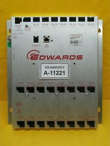 Edwards D37902000 Frame Controller 24v Dc 1a Module Used Working