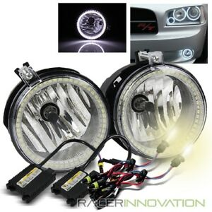 4300k Hid Kit for 2007 2009 Jeep Compass patriot Smd Halo Ring Fog Lights Lamps