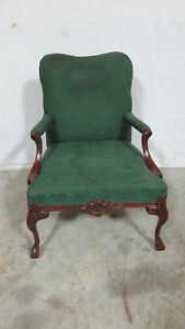 Thomasville Designer Club Chair Chippendale Claw
