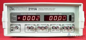 Valhalla 2111a Valhalla Scientific 2111a Digital Power Analyzer