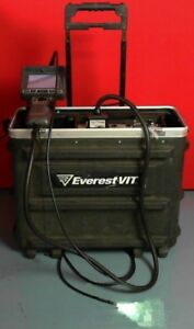 Everest Vit Xl Pro Pls 500 D Video Probe Remote Imaging Borescope
