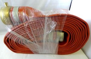 Unisource 250 Red Pvc Discharge Hose Assembly 2 1 2 Id 25 Length