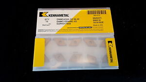Kennametal 5651072 Dnmg432a 3g Nl30 Inserts New Pk Of 10 Made In Usa