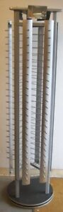 Store Display Fixture 72 Tall Sunglasses Rack With Rotating Base Holds 144 Pair