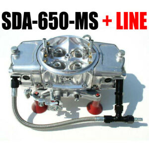Screamin Demon Sda 650 Ms 650 Cfm Carburetor Mech Secondaries Down Leg Line Kit