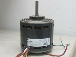 Emerson K55hxdjm 7081 Furnace Blower Motor 1 3hp 1075rpm 4spd 115v D340126p02