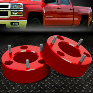 For 2007 2017 Silverado sierra 1500 Red 3 front High Mount Leveling Lift Kit