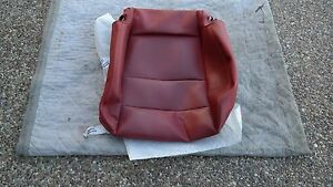 Porsche 997 987 Oem Factory Genuine Red Leather Sport Seat Lower Cushion Cover