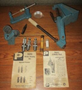 Pacific Standard Reloading Press Lot Scale Weights Dies & More