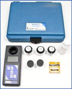 Microtpw Field Portable Waterproof Turbidimeter With Case And Accessories