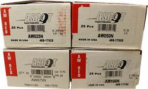 Perfect AW Style Coated Lead Wheel Weights AWN .25 - 1.00 oz. 25box  NEW