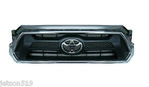 Genuine Toyota 2012 2013 2014 Tacoma Sport Chrome Grille Oem Oe New