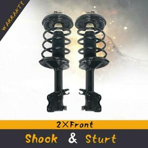 Both 2 Front Strut W coil Spring For 2000 2001 Nissan Maxima Infiniti I30