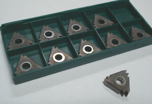 Tool Flo Carbide Threading Inserts 27nr 8npt 2m At50 Qty 10 6454e835